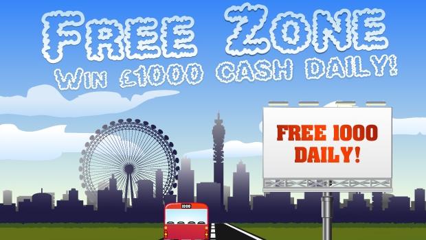 Free Zone | Redbus Bingo