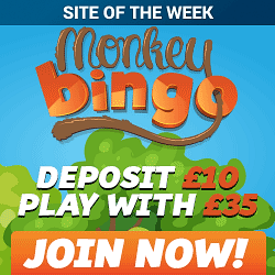 Monkey Bingo | 5 Star Bingo