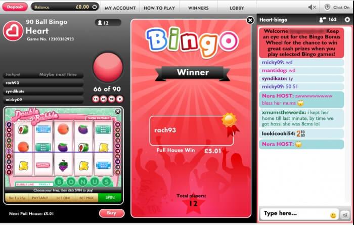 heart bingo | free bingo