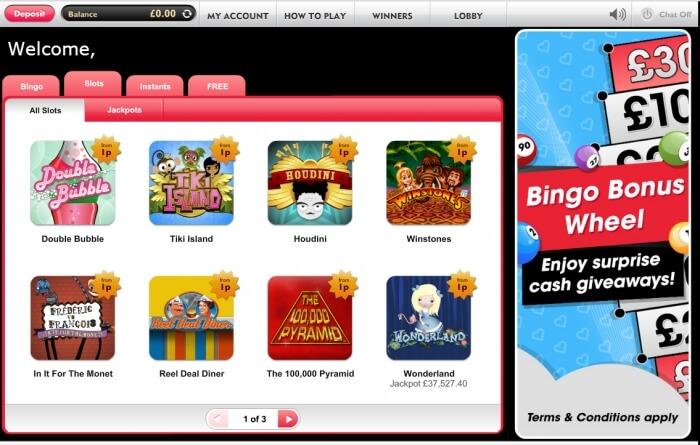 heart bingo | free slots