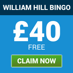 william hill bingo | £40 welcome bonus | free bingo