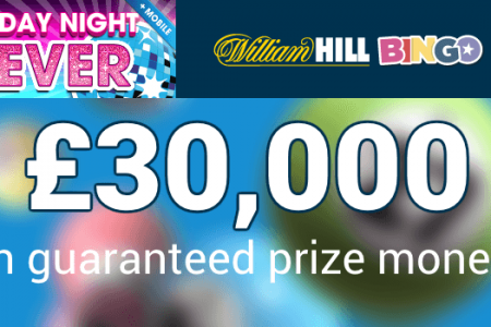 william hill bingo friday night fever