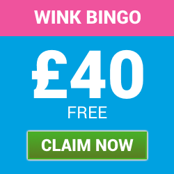 £40 Welcome Bonus with Wink Bingo | Free Bingo