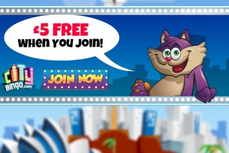 No Deposit Bonus – £5 Free at City Bingo