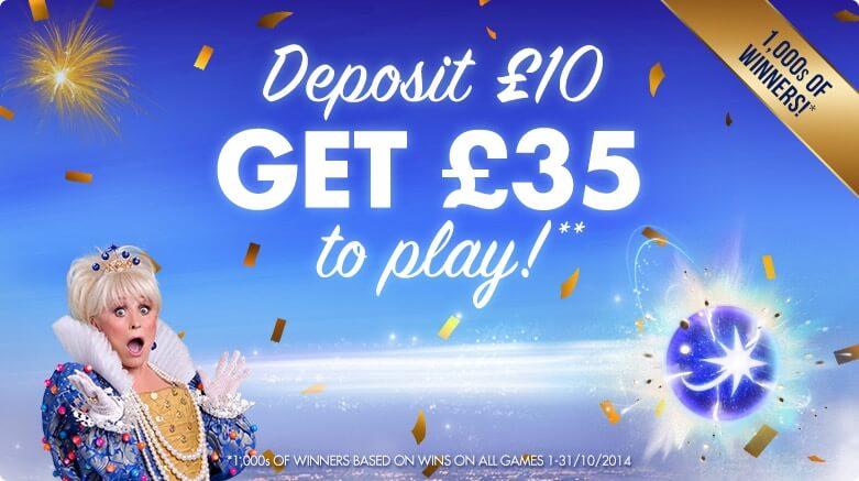jackpotjoy | deposit 10 get 35 | free bingo