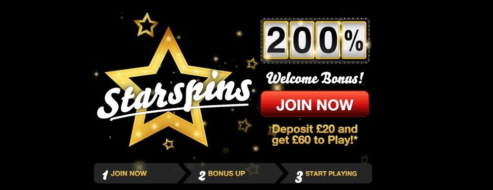 starspins | welcome bonus offer |free bingo