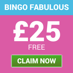 £25 Free Welcome Bonus with Bingo Fabulous