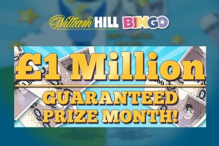 April £1 Million Prize Giveaway with William Hill Bingo