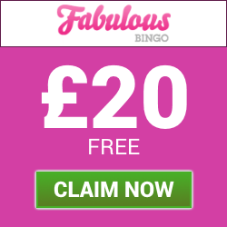 Fabulous Bingo | Deposit £10 get £30 to Play