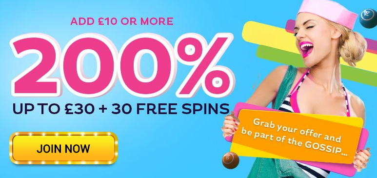 gossip-bingo-welocme-offer-march-2020-5starbingo