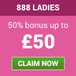 888 Ladies 50% Reload Bonus