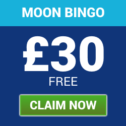 Deposit £10 and Play with £40 at Moon Bingo