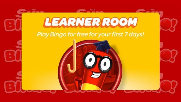 Play Bingo for FREE for 7 Days with Sun Bingo