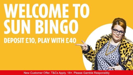 sun-bingo-welcome-offer-5-starbingo-Jan-2019
