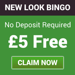 No Deposit Bonus – Get £5 Free with New Look Bingo