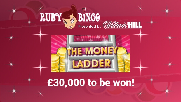 £30,000 to be won on Money Ladder Tuesday at Ruby Bingo