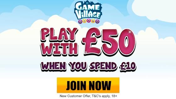 GameVillage | £40 Free Bingo Bonus