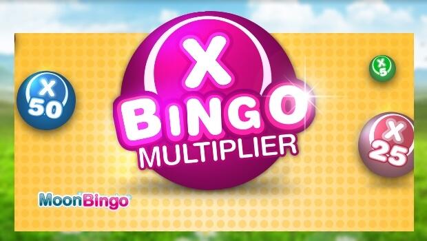 Moon Bingo | WIN up to £10,000 in the Bingo Multiplier Game