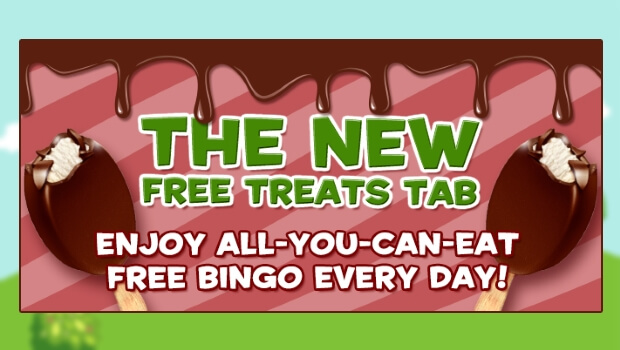 Tasty Bingo - Get 3 Days of Free Bingo with No Deposit Needed