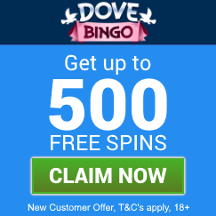 Dove-Bingo-welcome-bonus-5-starbingo-claim-box