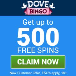 Dove-Bingo-welcome-bonus-5-starbingo-claim-box