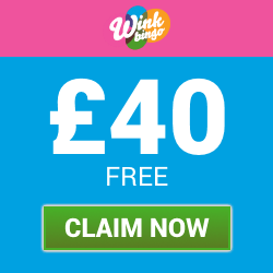 £40 Welcome Bonus with Wink Bingo | Free Bingo