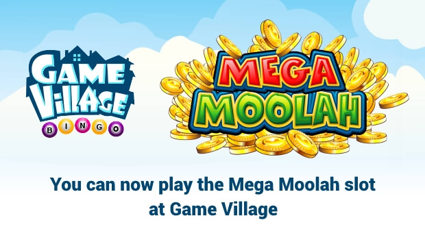 GameVillage Bingo gets Mega Moolah Slot Game