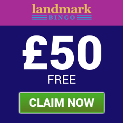 Deposit £10 and Play with £60 at Landmark Bingo