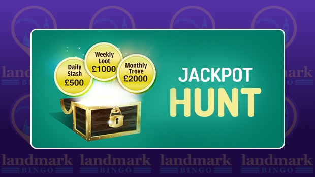 Join in the Jackpot Hunt and WIN a Share of over £10,000