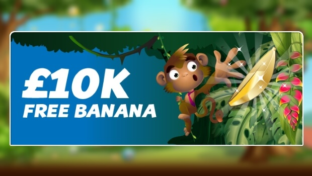 £10K Free Banana Game at Monkey Bingo