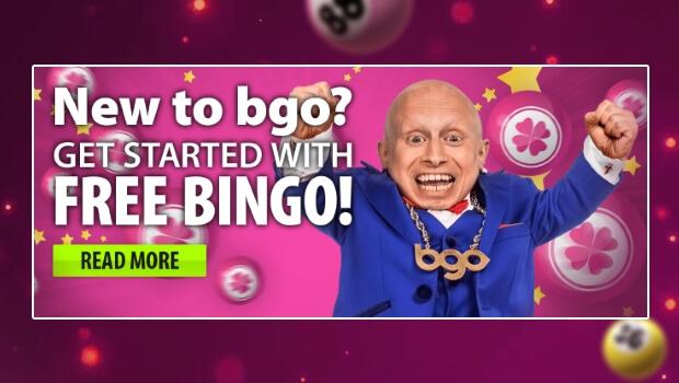 FREE Bingo for New Players at BGO Bingo