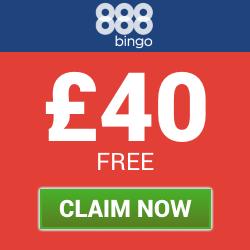 888 Bingo | £40 Free Signup Bonus