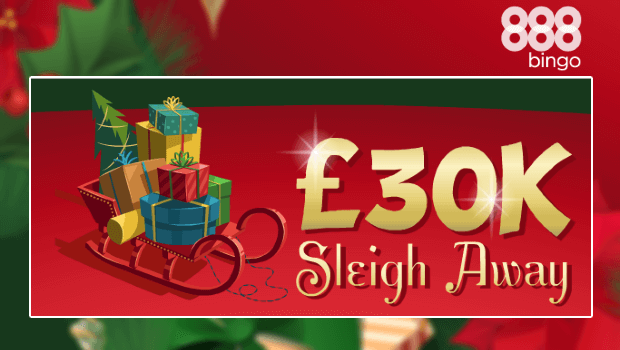 £30,000 Sleigh Away Promotion at 888 Bingo