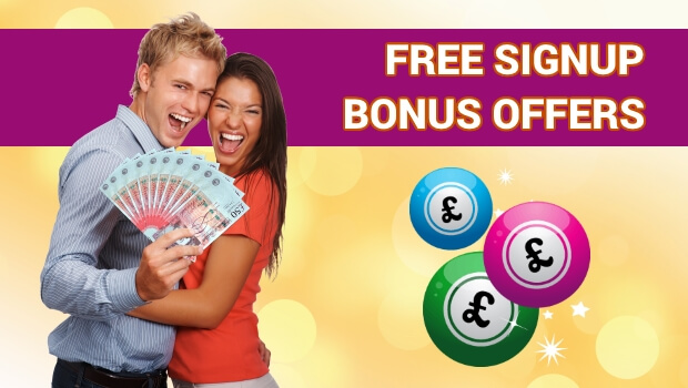 Here are the Best Bingo Sites with Free Signup Bonus Offers