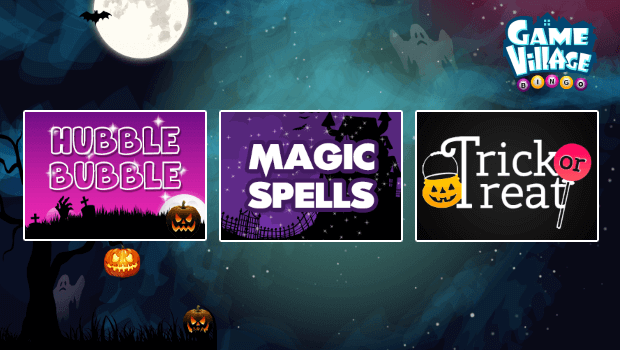 Halloween Exclusive Promotions on GameVillage Bingo
