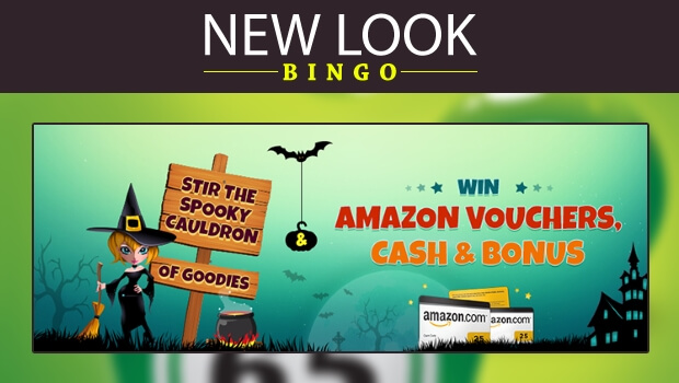 WIN Amazon Vouchers, Cash & Bonus at New Look Bingo