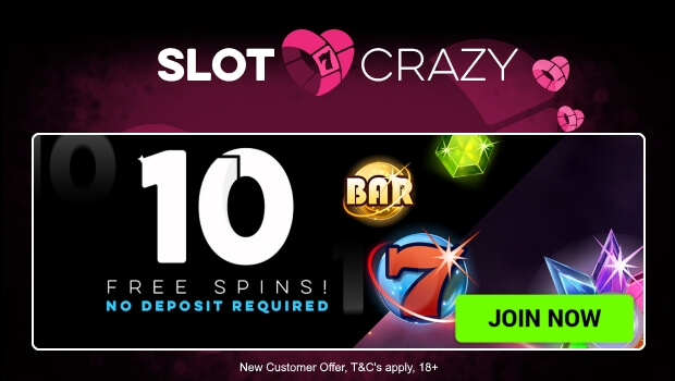slot-crazy-10-free-spins-5starbingo