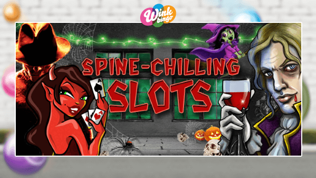 WIN a Share of £500 on Scary Slots at Wink Bingo