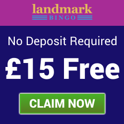 Landmark Bingo | £15 Free no deposit needed