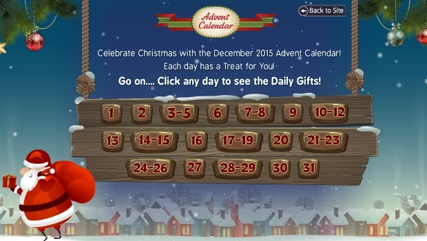 Bingo Fabulous | Advent Calendar Treats