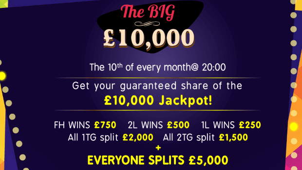 Daisy Bingo | The Big £10,000 Game