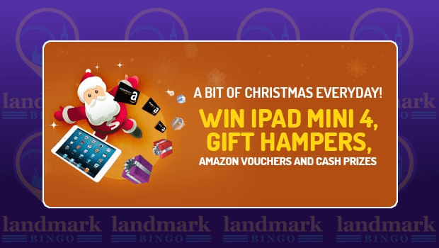 Landmark Bingo | WIN an iPad Mini 4, Gift Hampers and More