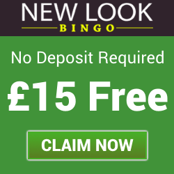 New Look Bingo | £15 Free No Deposit Bonus