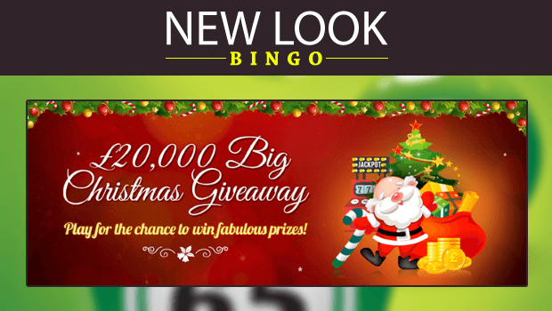 £20,000 Christmas Giveaway at New Look Bingo