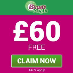 Bingo Magix | Get £60 Free