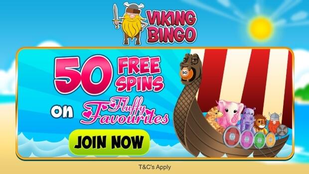 Viking Bingo | Get 50 Free Spins Guaranteed