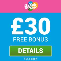 wink bingo bonus