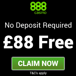 888 Casino | £88 Free Casino Bonus - no deposit needed