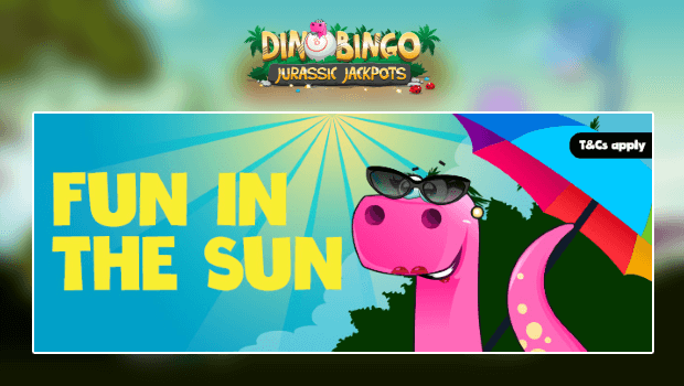 Dino Bingo | Free Bingo Game to win a Spanish Holiday