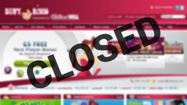 Ruby Bingo Closes | Online Bingo Site Closes Down